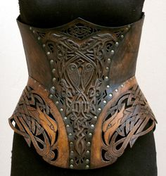 Where armor meets corset - I don't know, there is just something about it i like...