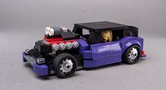LEGO MOC 76904 Rat Rod by Keep On Bricking | Rebrickable - Build with LEGO