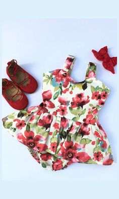 red watercolor twirl dress for toddler girls. Beautiful open back dress with a sweetheart neckline. the back bodice has an elastic casing for the perfect fit that allows for growth and easy on and off.The straps meet and tie in the back for a sweet look, this dress is magical in all ways #toddler #affiliate