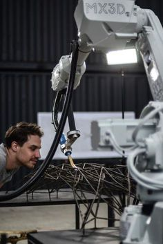 2   This Robot Can 3-D Print A Steel Bridge In Mid-Air   Co.Design   business + design