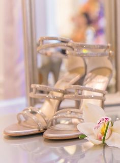 Wedding shoes idea; Featured Photographer: A Day of Bliss