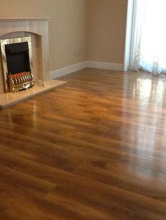 High Gloss Walnut Effect Laminate Floor. Http://www.ppmsltd.co