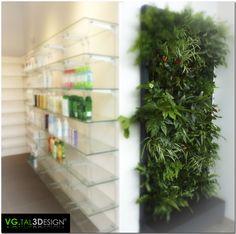 mur vgtal intrieur mur vegetal pharmacie espace commercial