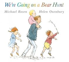 Check out the speech and language goals you can target in speech therapy using the classic story 'We're Going on a Bear Hunt'