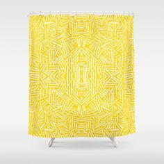Radiate - Freesia Shower Curtain
