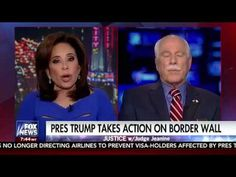 """(Fox News) Feb. 4, 2017 - Sheriff Thomas Hodgson tells Judge Jeanine Pirro that Mayors of """"sanctuary cities"""" are in criminal violation of federal law and nee..."""