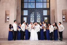 The Wedding Party!   St. Therese of Carmel   San Diego, CA   #weddingparty #sandiego #bride #groom #bridesmaids #groomsmen #aaronhuniuphotography   Aaron Huniu Photography