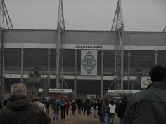 Borussia park. Borussia Mönchengladbach