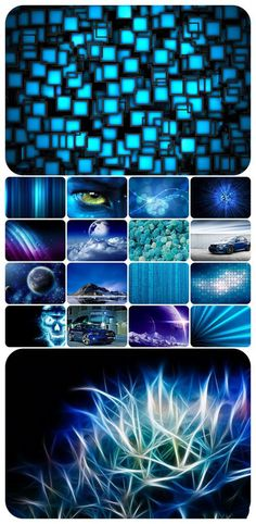 Wallpaper pack – Blue
