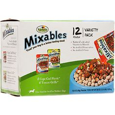 Mixables Variety Packs for Small to Medium Dogs