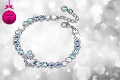 Star Tennis Bracelet made with Swarovski Elements