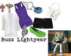 """""""Buzz Lightyear Inspired"""" by disneydiva305 ❤ liked on Polyvore"""