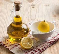 aceite de oliva y limón