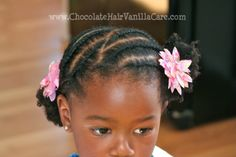 I LOVE this hair style. Check out Chocolate Hair Vanilla Care for lots more beautiful styles and tips. x