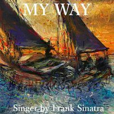 PCペイントで絵を描きました! Art picture by Seizi.N: 先日facebookの友達の誕生日の為にお絵描きした絵で、人生の荒波を越て行く様なヨットを油絵風に描いたものです。 Frank Sinatra My Way http://youtu.be/T6ya7ZRlrEo