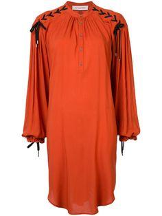 A.F.VANDEVORST Lace Up Sleeve Smock Dress. #a.f.vandevorst #cloth #dress
