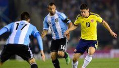 Mira en vivo Colombia vs Argentina: http://www.envivofutbol.tv/2015/11/ver-partido-colombia-vs-argentina-en-vivo.html