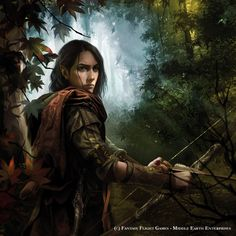 """Haldir Of Lorien"". Lord of the Rings LCG-Fantasy Flight Games / Middle Earth Enterprises ""Legolas"". Lord of the Rings LCG-Fantasy Flig..."