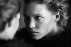 Léa Seydoux by Peter Lindbergh