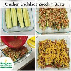 Healthy Zucchini Boats