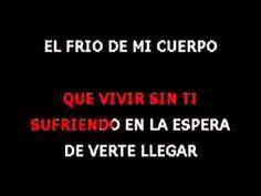 Si No Te Hubieras Ido   Marco Antonio Solis   Karaoke Letras   Karaoke Gratis, Karaoke Español, artistas latinos, ultimos hits, nuevos discos