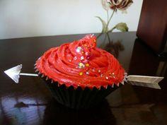 Katniss cupcake