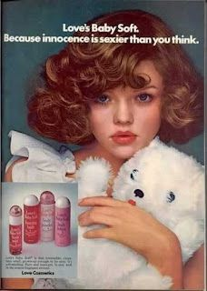 Love's Baby Soft  Introduced in 1974 by Mem Corporation, it was one of the first fragrances marketed to the teen girl. Girls started stocking their bathrooms with the mist, the powder and the lotion, learning the power of layering scent, creating a cloud of sweetness which hopefully dissipated on the way from home to school.