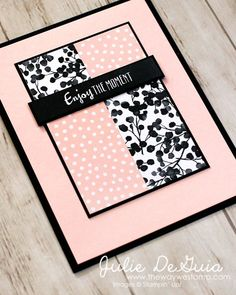 Petal Passion Memories & More Card Pack by Stampin' Up! for Freshly Made Sketches 323 | FSM323 | Quick and Easy Handmade Cards | The Way We Stamp | Julie DeGuia