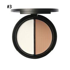 Makeup Blush Bronzer Highlighter 2 Diff Color Concealer Bronzer Palette Comestic Make Up by Focallure