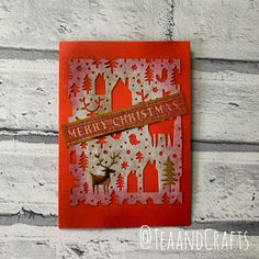 Posts about Card Making written by Tea and Crafts Winter Cards, Holiday Cards, Christmas Cards, Merry Christmas, Xmas, Card Maker, Tim Holtz, My Favorite Things, Crafts