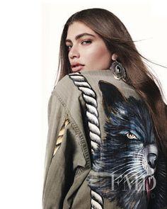 À La Garçonne in Elle Brazil with - (ID:43586) - Fashion Editorial   Magazines   The FMD #lovefmd