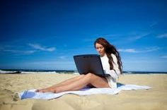 Work Wherever #Beach #Holiday #RemoteWorking