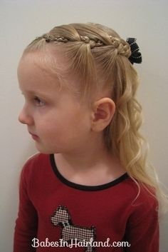 Intricate Variation on Side Braids | 37 Creative Hairstyle Ideas For Little Girls