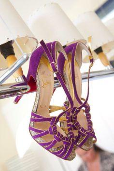 Trendy purple!  http://www.a-dreamwedding.com/