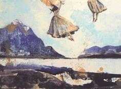 Gro Mukta Holter - Sammen Fine Art, Painting, Kunst, Painting Art, Paintings, Visual Arts, Painted Canvas, Drawings