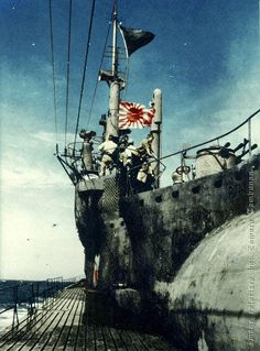 The I-401 hoisted a black flag of surrender in 26 August 1945, . Its unmanned planes were catapulted into the sea, all 20 Type 95 torpedoes were destroyed, and all codes, logs, charts and secret documents were also destroyed. Three days later, on 29 August 1945, the I-401 was picked up on USS Segundo's radar. I-401 surrendered to the American ship. Lieutenant Commander Nobukiyo Nambu delivered two samurai swords, as a symbol of surrender, to Lieutenant J.E. Balson.