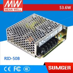 19.71$  Buy now - http://ali8la.shopchina.info/1/go.php?t=32696258870 - [MEAN WELL] original RID-50B meanwell RID-50 53.6W Dual Output Switching Power Supply  #aliexpresschina