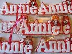 Jen Irey Cookies   Little Orphan Annie Cookies