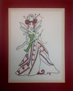 "Machine Embroidery Digital File ""Quiting Fairy Cindy"" by NicolaElliott on Etsy"