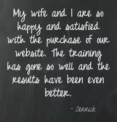 We love satisfied clients!  Happy clients = positive Pure-Ecommerce Reviews!