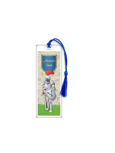 Knight Personalized Bookmark