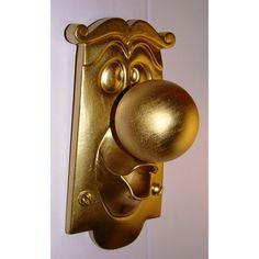 Alice in Wonderland Disney DOORKNOB Movie Character Figure Display Sign Prop Door Knob Great Collectible ($54) found on Polyvore