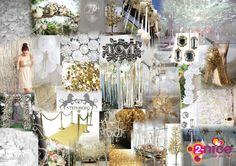 www.2-nice.nl Moodboard, Collage, Event, Styling, Visual, Gold, Radio 538, Steinberg, Sfeer, Goud, Aankleding, Decoratie