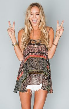 Lenz Tank - Lovely Paisley | Show Me Your MuMu