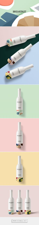 Breakfast Flavored Milk Packaging by Kali Day