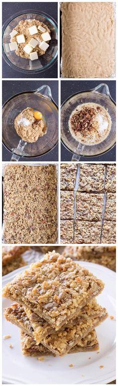 Toffee Bars Recipe