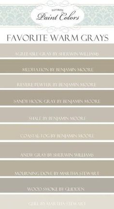 Kitchen Cabinet Colors! | Top 10 Favorite Warm Gray Paint Colors | Favorite Paint Colors Blog by GAdams10