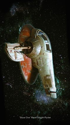 Boba Fett Slave One - Revell 1:160 by MitchGrave on DeviantArt