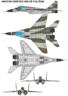 MiG-29 FULCRUM by bagera3005.deviantart.com on @deviantART