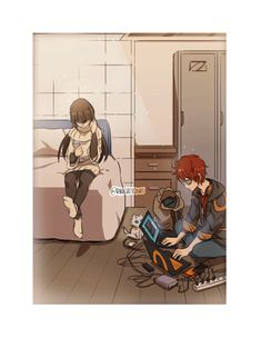 darkgreyclouds:   7′s just sitting in his corner... - ERROR CODE 707